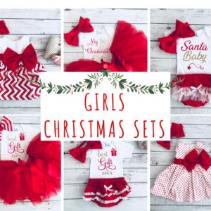 Girls Christmas Sets