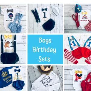 Boys Birthday Sets