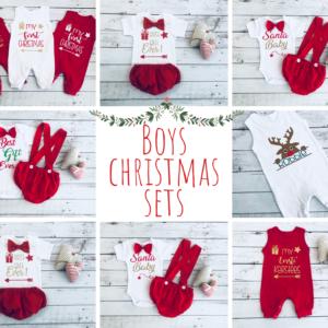 Boys Christmas Sets